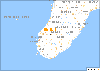 map of Abaca