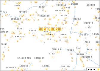 map of Abateberai