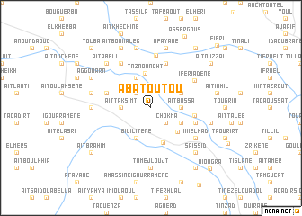 map of Abatoutou