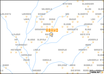 map of Abawo