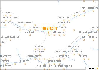map of Abbazia
