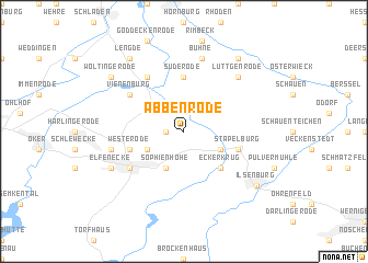 map of Abbenrode