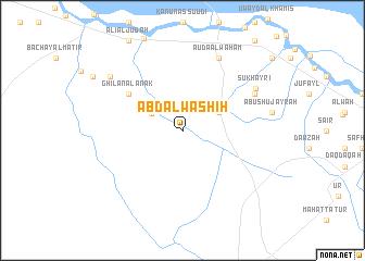map of 'Abd Āl Washīḩ