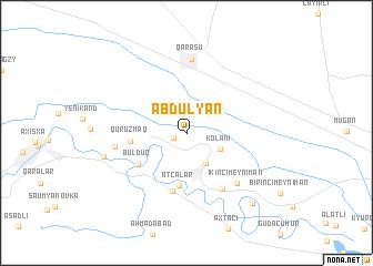 map of Abdulyan