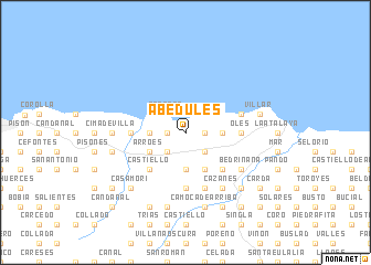 map of Abedules