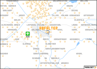 map of Abfalter