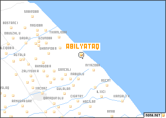 map of Əbilyataq
