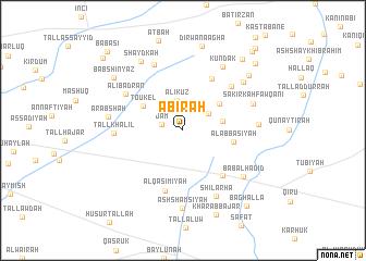 map of 'Ābirah