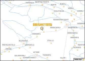 map of Abish-Kyand