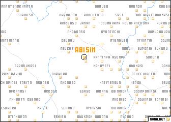 map of Abisim