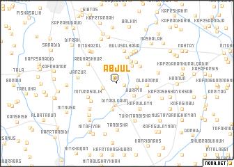 map of Abjūl