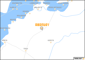 map of Abonday
