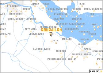 map of Abū 'Ajīlah