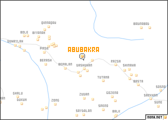 map of Abu Bakra