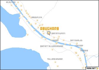 map of Abū Gharb