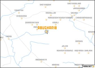 map of Abū Gharīb