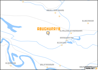 map of Abū Ghurayb