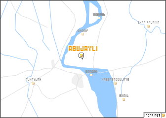 map of Abū Jaylī