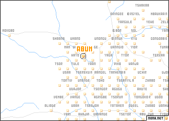 map of Abum