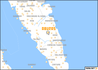 map of Aburas
