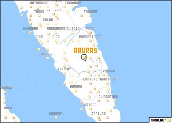 map of Aburas