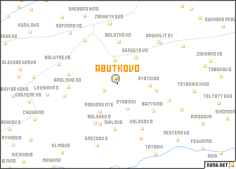 map of Abut\