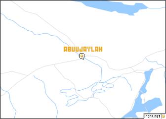 map of Abū 'Ujaylah