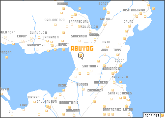 map of Abuyog