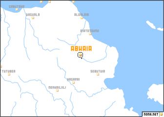 map of Abwaia