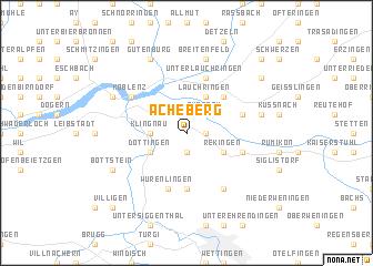 map of Acheberg