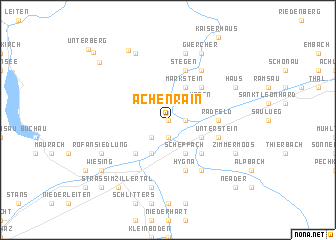 map of Achenrain