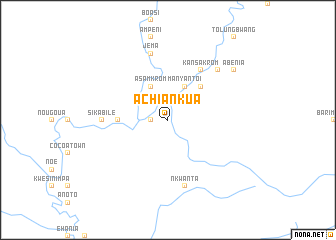 map of Achiankua