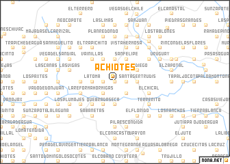 map of Achiotes
