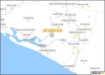 map of Achiotes