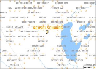 map of Achselschwang