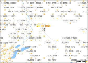 map of Achthal