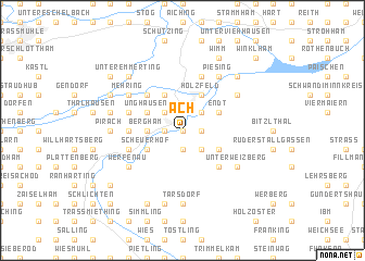 map of Ach