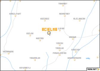 map of Acıelma