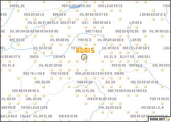 map of Adais
