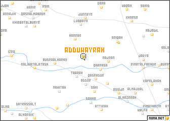 map of Ad Duwayrah