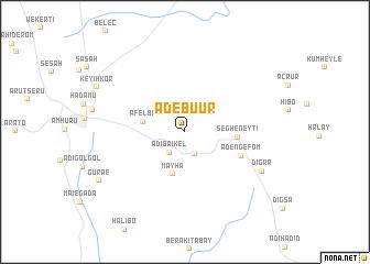 map of Ādebu'ur
