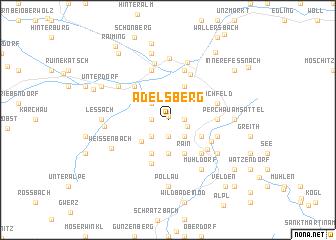 map of Adelsberg