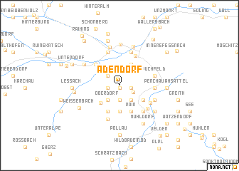 map of Adendorf