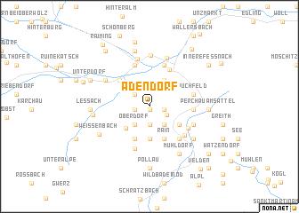 map of Adendorf