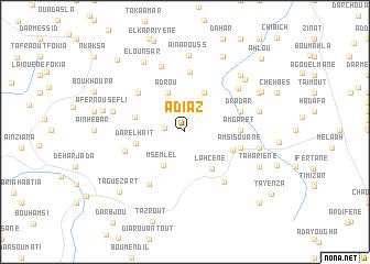 map of Adiaz