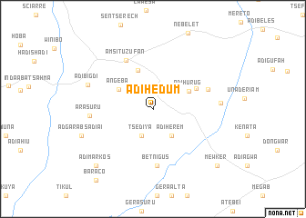 map of Ādī Hēdum