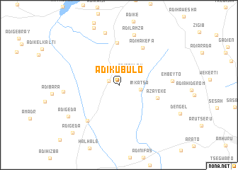 map of Ādī Kubulo