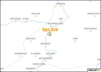 map of Adileva