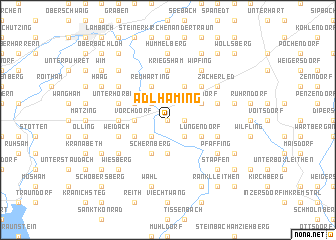 map of Adlhaming
