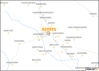 map of Ādmard